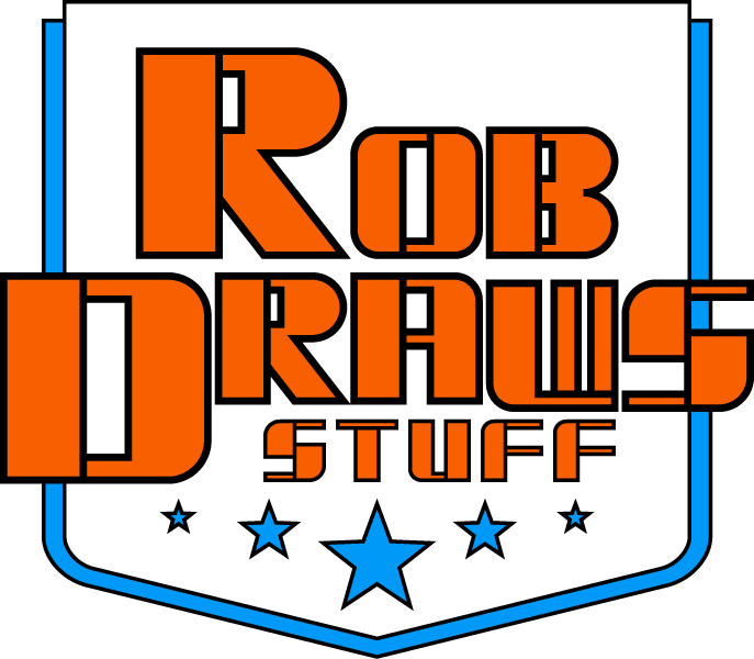 Welcome to Rob Draws Stuff.com