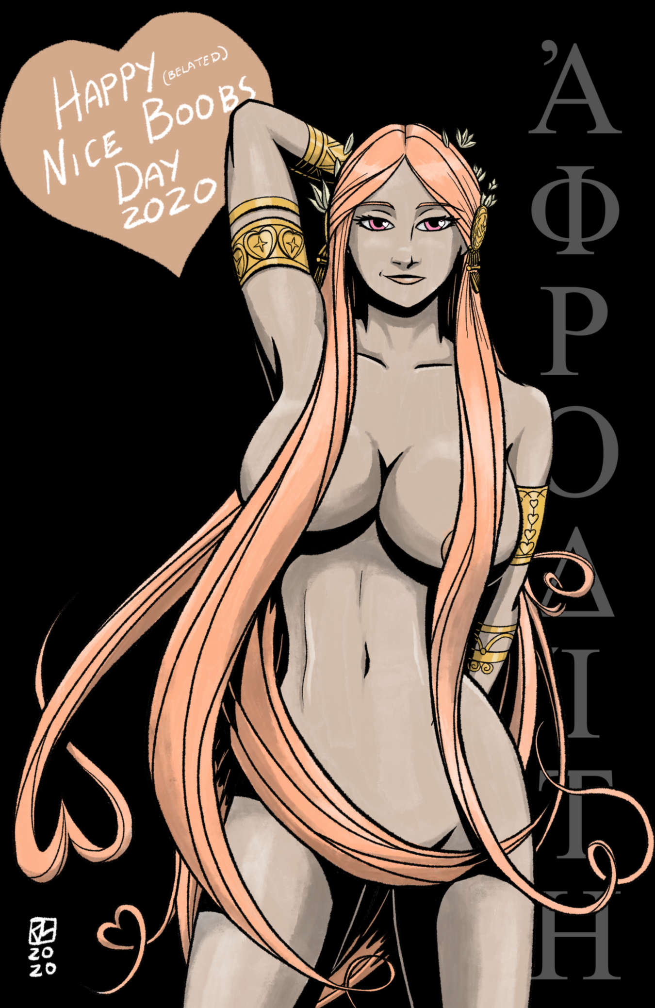 Aphrodite for Nice Boobs Day 2020